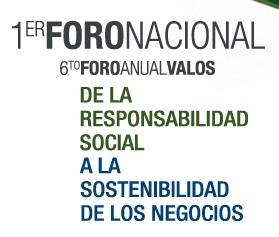 1er Foro Nacional de RSE de la Red RARSE. De la RSE a la Sostenibilidad de los Negocios