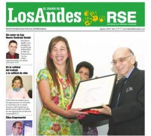 Portada del Suplemento RSE del Diario de Los Andes - Venezuela