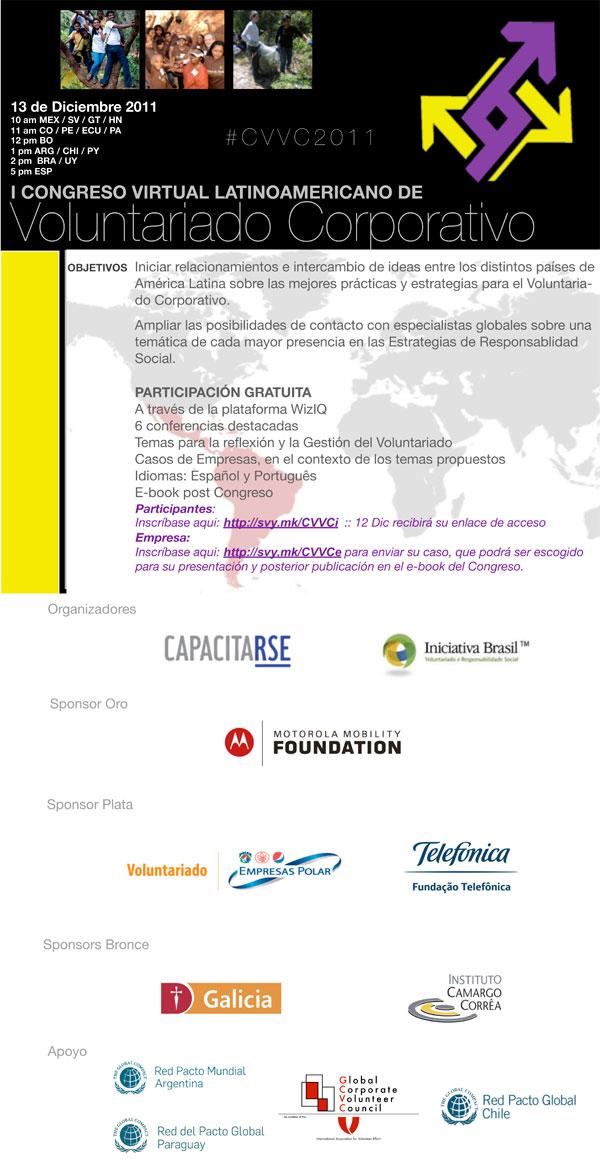 Congreso Virtual Latinoamericano de Voluntariado Corporativo