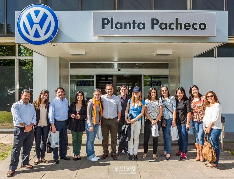 Grupo de alumnos que participó del Cierre Presencial del Diplomado en 2013