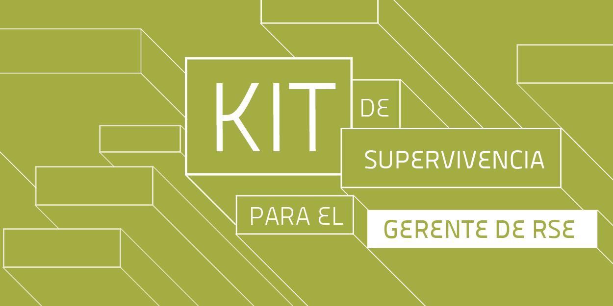 Adquiere Ya tu Kit para el Gerente de RSE!