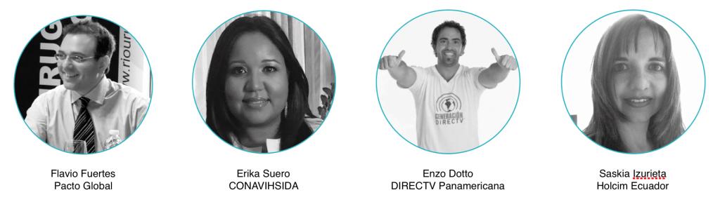 Expertos de RSE de América Latina que estáran en el Máster de Sostenibilidad