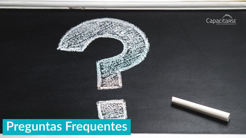 Preguntas Frecuentes sobre CapacitaRSE
