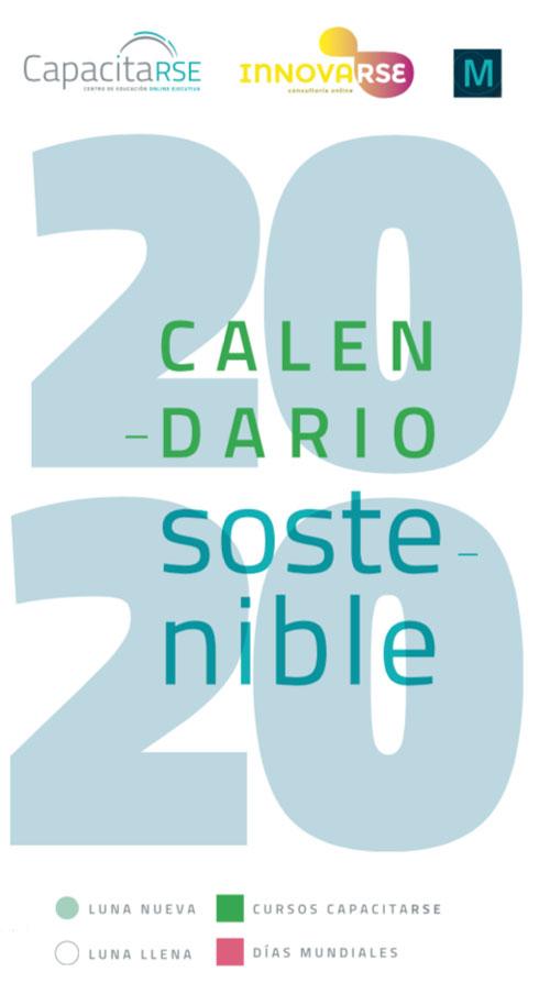 Descarga tu Calendario Sostenible 2020