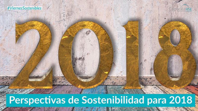 Las 6 perspectivas de Sostenibilidad para 2018