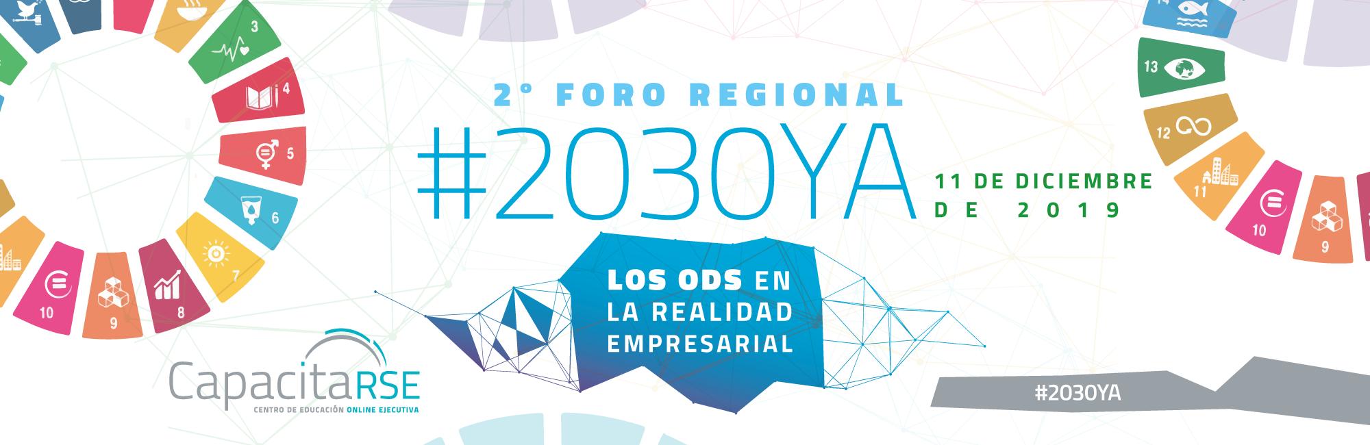 Buscamos experiencias para el 2º Foro #2030YA