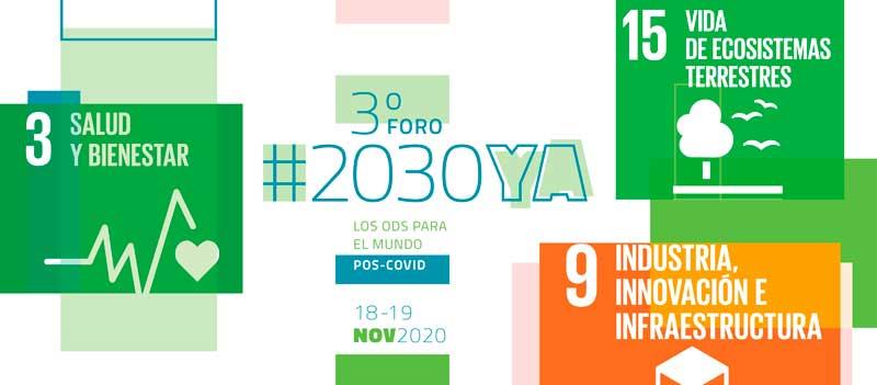 ¿Trabajas con los ODS? ¡Únete al III Foro #2030YA!