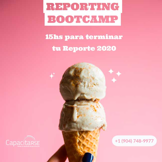Un Bootcamp para potenciar tu Reporte