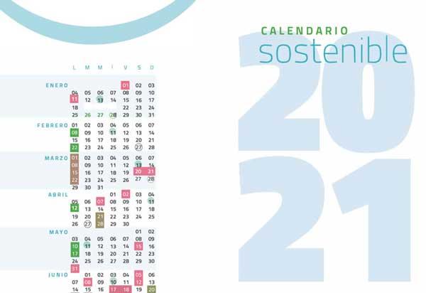 Descarga el Calendario Sostenible 2021