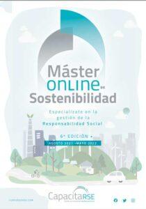Brochure del Master Online de Sostenibilidad