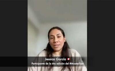 El valor de emprender el #MasterSost: Jessica García (2021-2022)