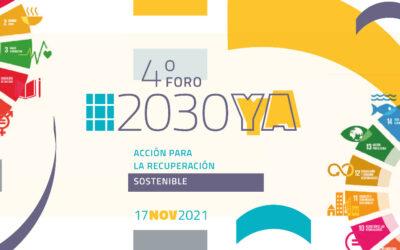 Reserva la fecha: el Foro #2030YA llegará el próximo 17 de noviembre de 2021